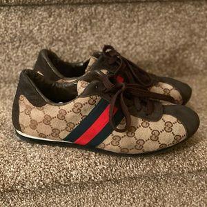 Final Sale Gucci Monogram Sneakers